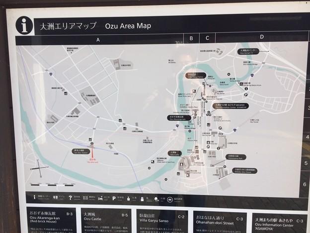 伊予大洲駅7 ~大洲市内案内図~