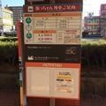 伊予鉄市内電車JR松山駅前電停2 ~坊ちゃん列車時刻表~