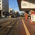 伊予鉄市内電車JR松山駅前電停4 ~反対ホーム~