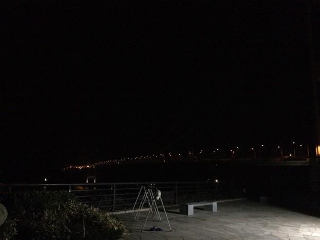 夜の来島海峡大橋1