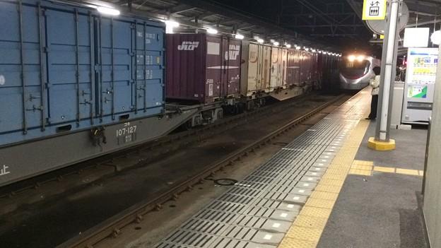今治駅11 ~特急列車入線1~