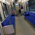 伊予鉄道市内電車低床車 車内