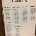 日本100名山リスト@松山城