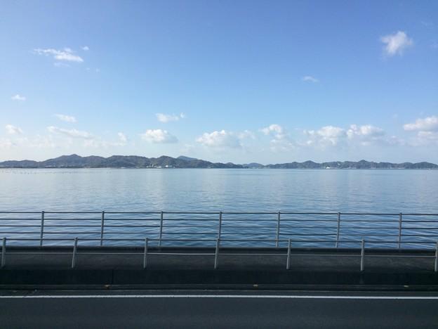 Photos: 伊予灘の車窓風景17