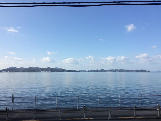Photos: 伊予灘の車窓風景18