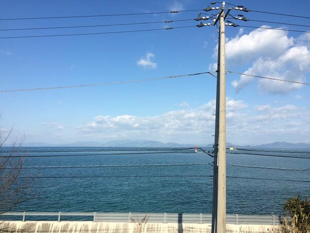Photos: 伊予灘の車窓風景19