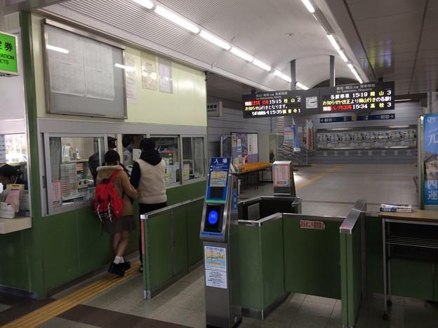宇多津駅3 ~改札~