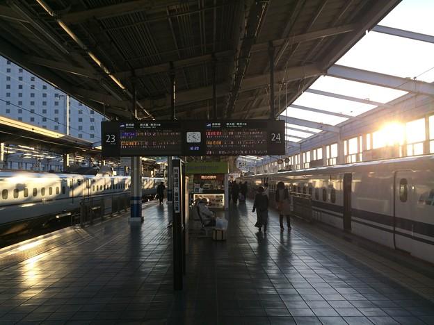 岡山駅新幹線ホーム