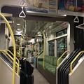 広島電鉄 低床車車内
