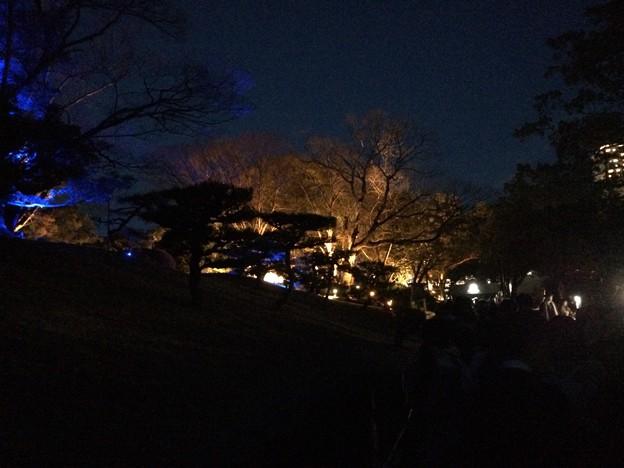 チームラボ広島城光の祭 入場前1