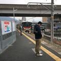 JR可部線大町駅4 ~普通列車広島方面行き入線~