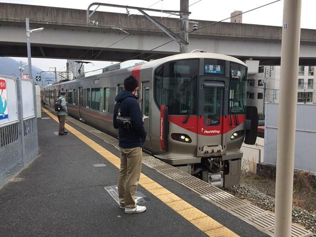 JR可部線大町駅5 ~入線2~