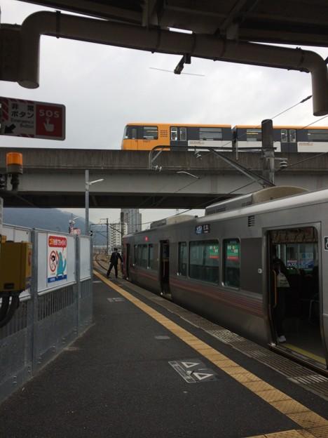 JR可部線大町駅6 ~停車~