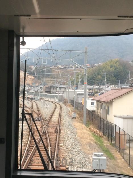 あき亀山駅1 ~入線~