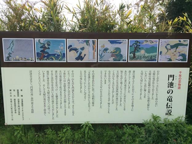門池の竜伝説