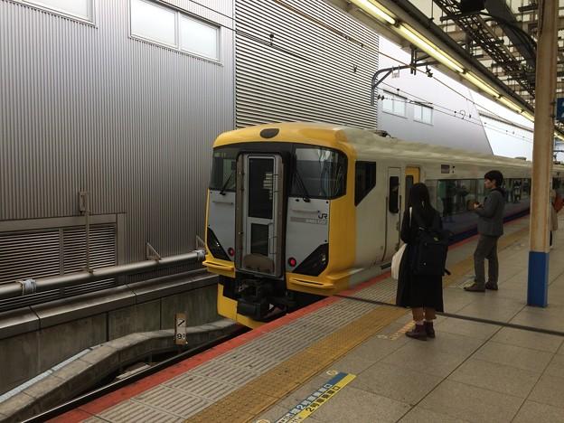 横浜駅 臨時列車