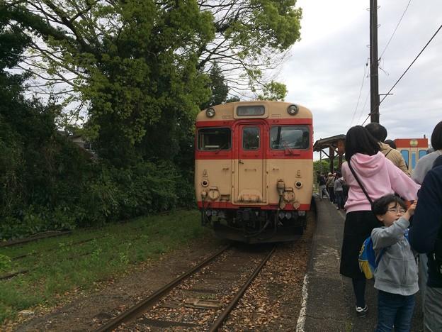 上総中野駅2 ~いすみ鉄道ホーム~