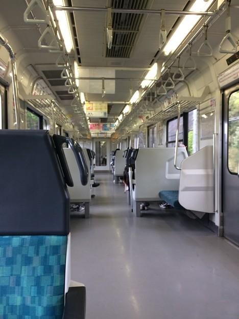外房線普通電車 車内