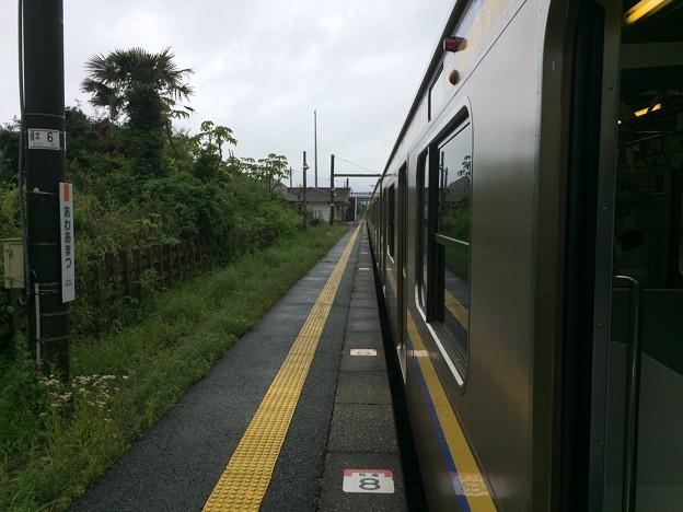 安房天津駅