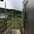 上総亀山駅5 ~車止~