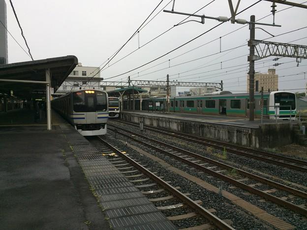 成田駅4 ~成田空港行き 入線~