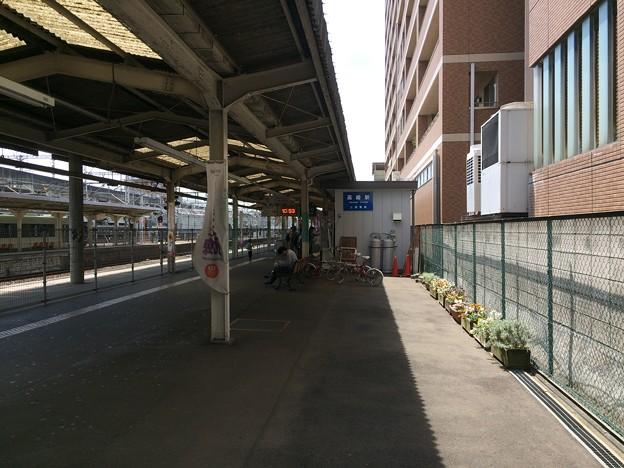 高崎駅11 ~上信電鉄ホーム前~