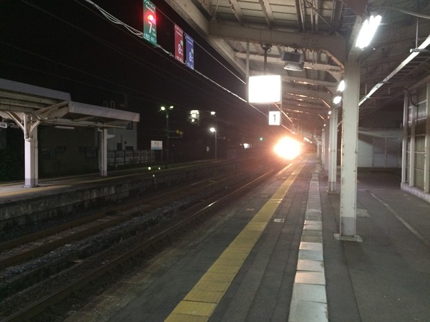 武生駅13 ~サンダーバード入線1~
