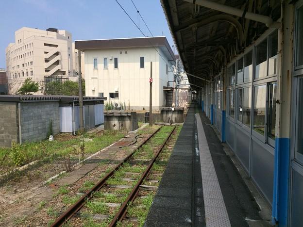 直江津駅4 ~車止め~