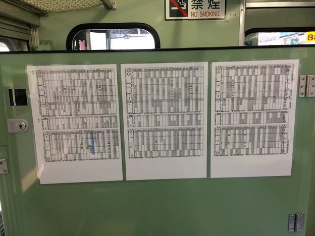 しなの鉄道時刻表