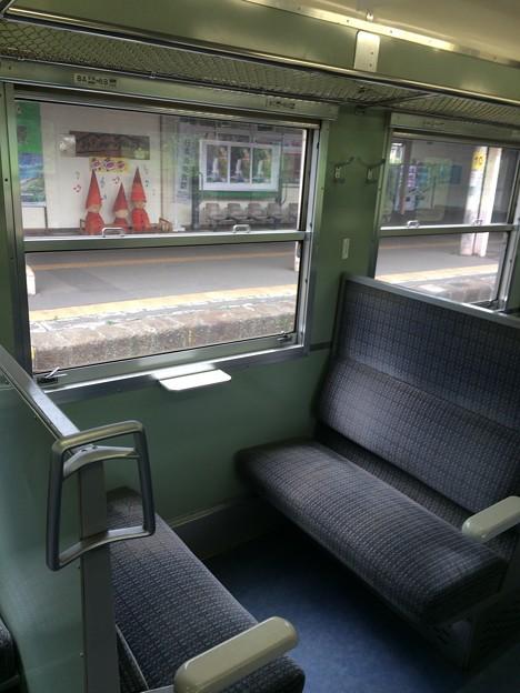 北しなの線 ボックスシート