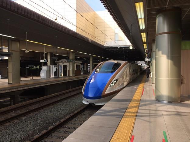 長野駅25 ~かがやき 臨時列車~