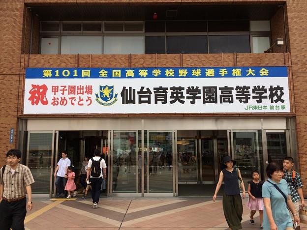 仙台駅14 ~甲子園出場~