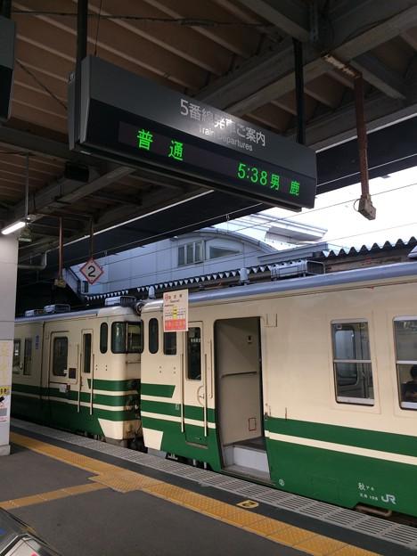 秋田駅13 ~始発列車男鹿行き~