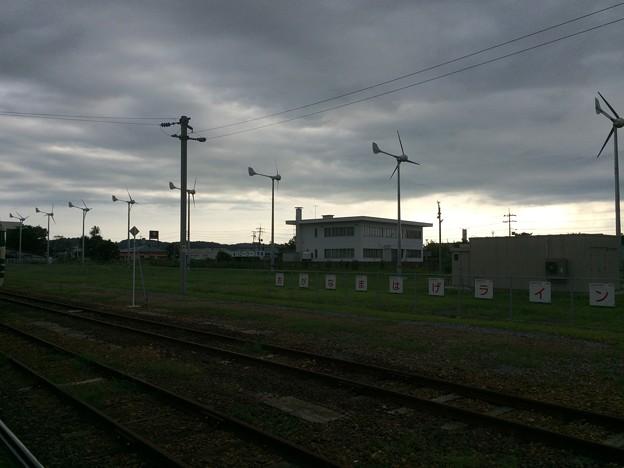 男鹿駅12