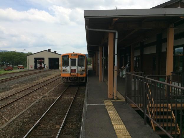 矢島駅10 ~列車停車中 由利高原鉄道24~