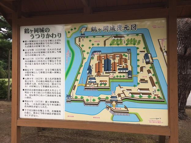 鶴ヶ岡城跡2 ~案内~