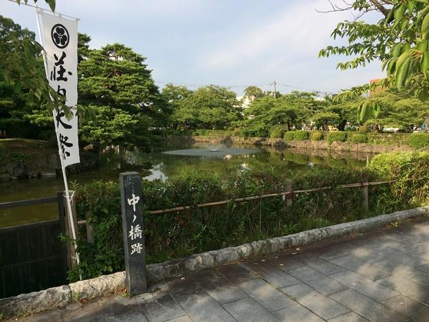 鶴ヶ岡城跡8 ~中ノ橋跡~