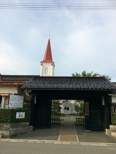 鶴岡カトリック教会1