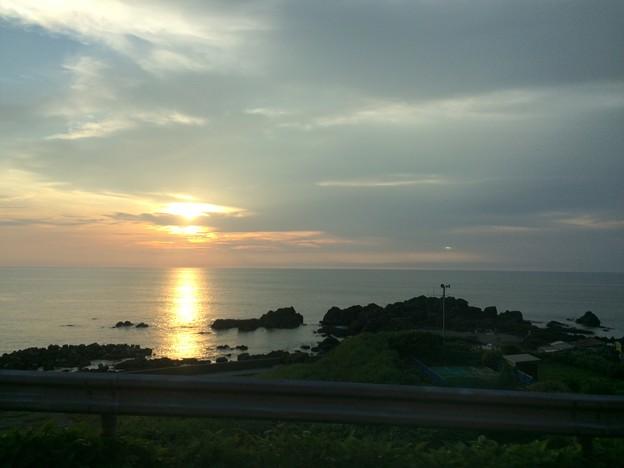 日本海の夕日1