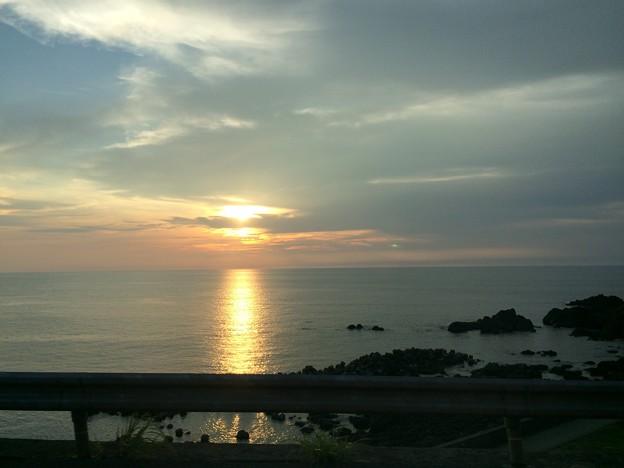 日本海の夕日2