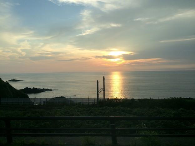 日本海の夕日3