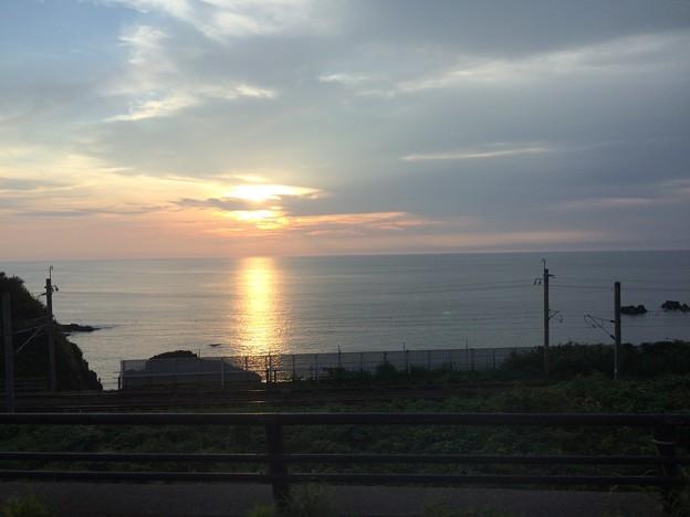 日本海の夕日4