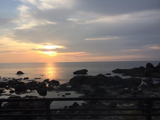 日本海の夕日7