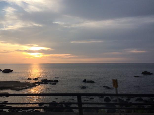 日本海の夕日8
