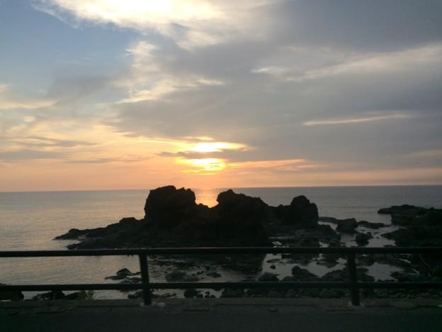日本海の夕日9