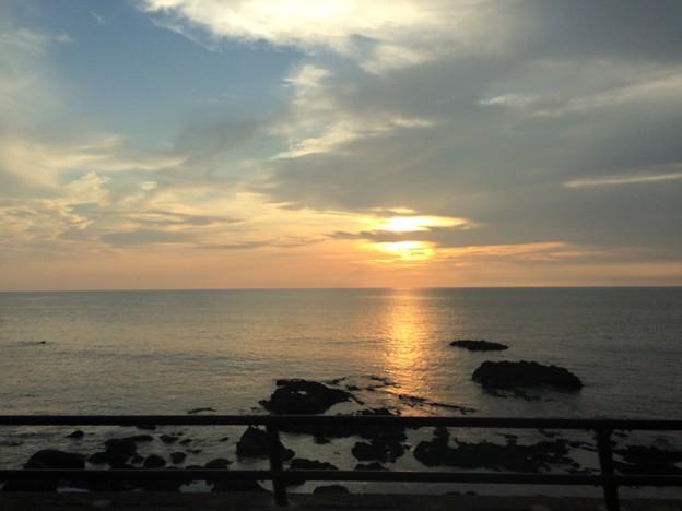 日本海の夕日10