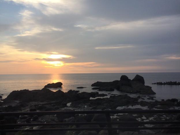 日本海の夕日6