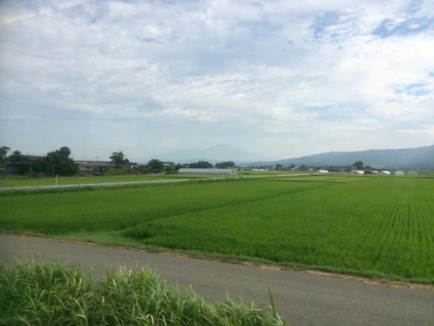 庄内平野 車窓風景5