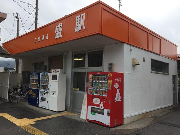 盛駅2 ~三陸鉄道駅舎~
