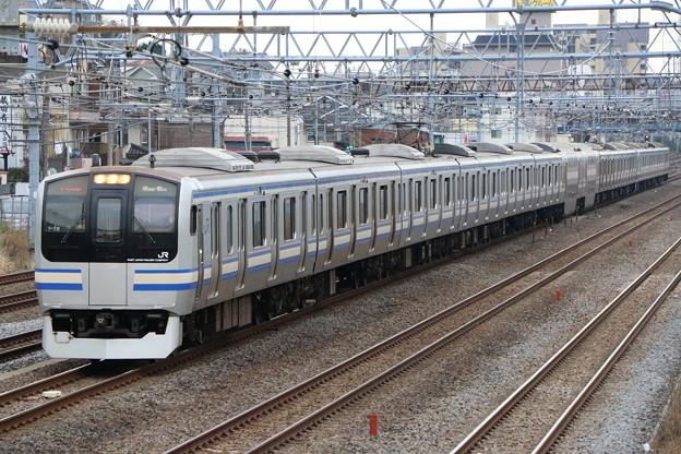 横須賀・総武快速線E217系 Y-18編成